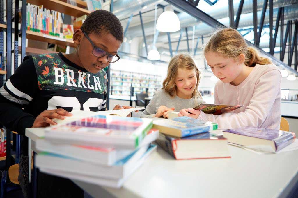 Stadtbibliothek Frankfurt Eindrücke