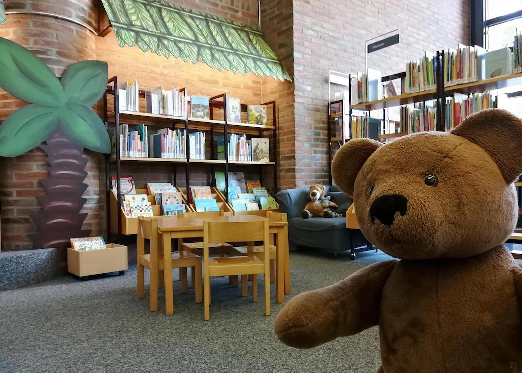 Stadbibliothek München Eindrücke